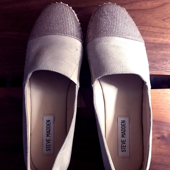 Crítico realidad superstición  Steve Madden Shoes   Suede Pulse Flat Espadrilles Size 6   Poshmark